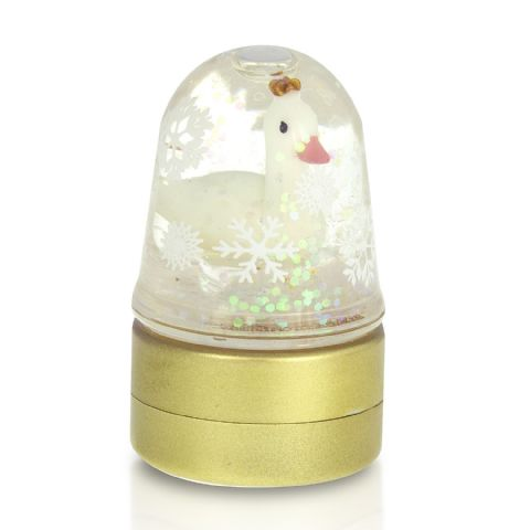 Mini Snowglobe Winter Wonderland Lip Balm 2.9g Mad Beauty